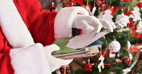 Stack of Letters to Santa