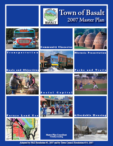 2007 Master Plan Cover