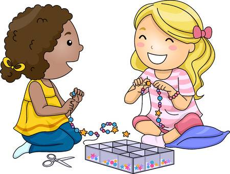 37686354-stock-illustration-illustration-of-little-girls-making-accessories-with-colorful-beads